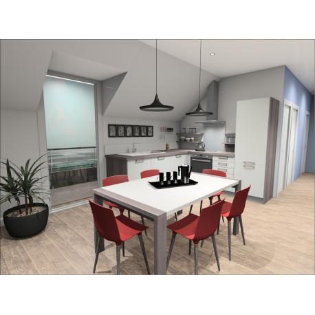 acheter appartement 2 pièces 66 m² valenciennes photo 4