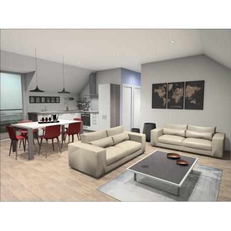 acheter appartement 2 pièces 66 m² valenciennes photo 3