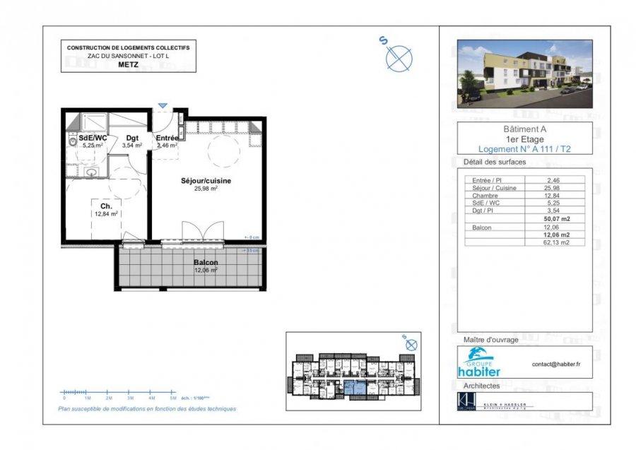 acheter appartement 2 pièces 50 m² metz photo 1