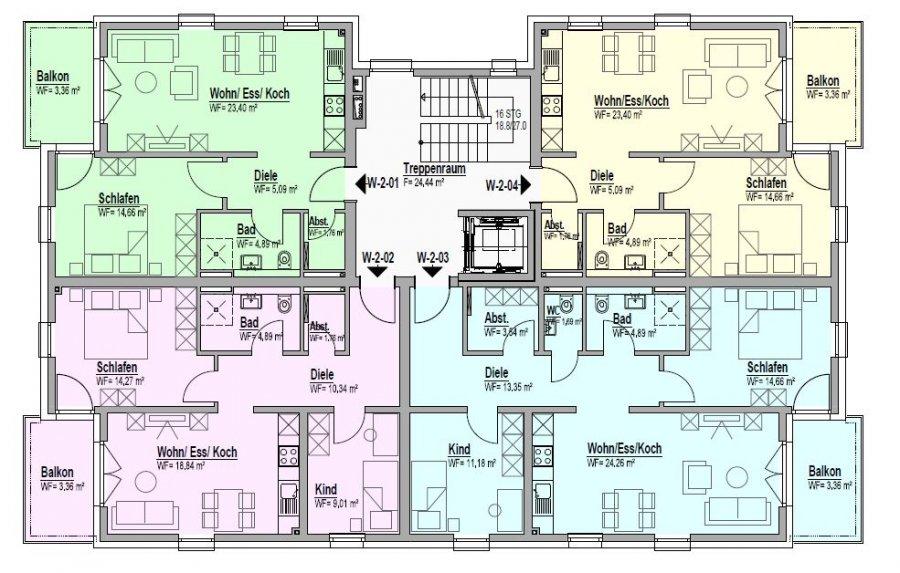 wohnung kaufen 3 zimmer 76.93 m² bitburg foto 3