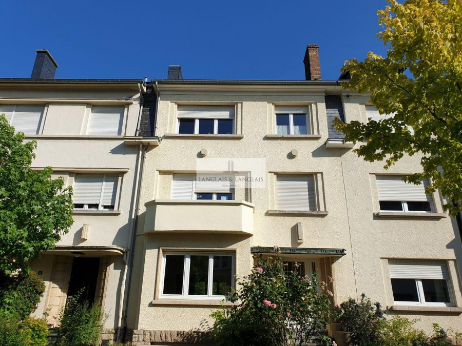 Maison individuelle à louer 5 chambres à Luxembourg-Limpertsberg