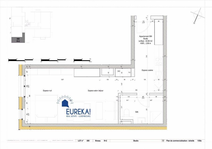 Studio en vente luxembourg centre ville m 430 for Studio a acheter