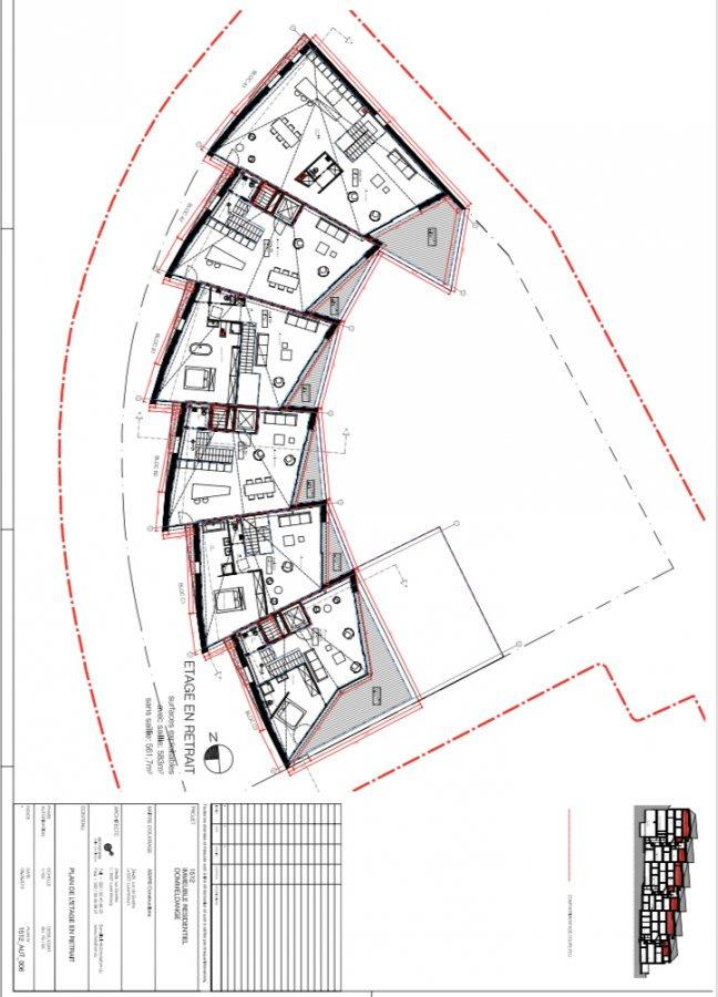 Duplex à louer 3 chambres à Luxembourg-Dommeldange