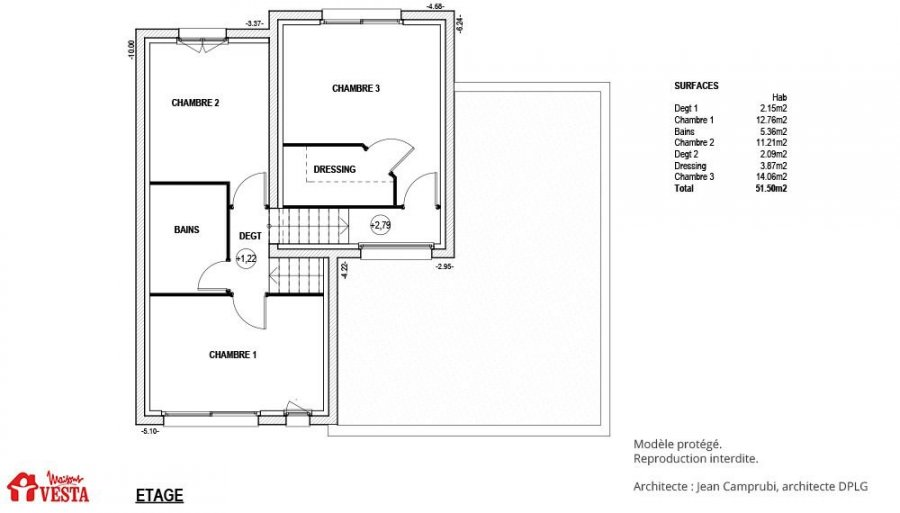 acheter maison 5 pièces 100 m² mont-sur-meurthe photo 3