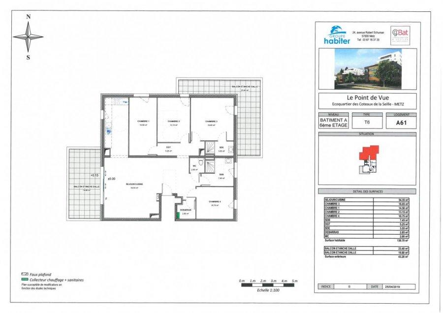acheter appartement 6 pièces 130 m² metz photo 1
