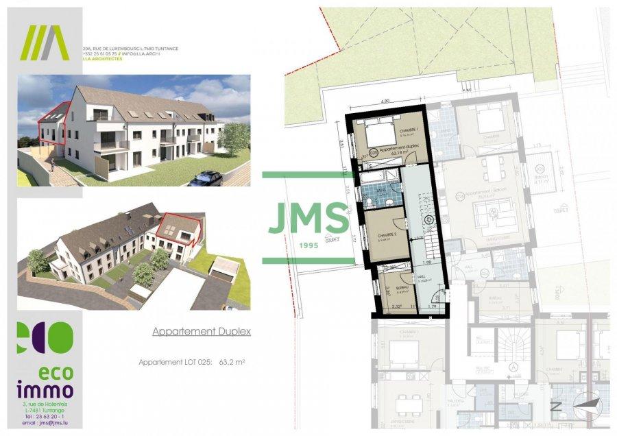 acheter appartement 3 chambres 136.99 m² buschdorf photo 3