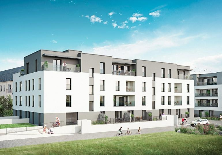 acheter penthouse 3 chambres 167.83 m² howald photo 4