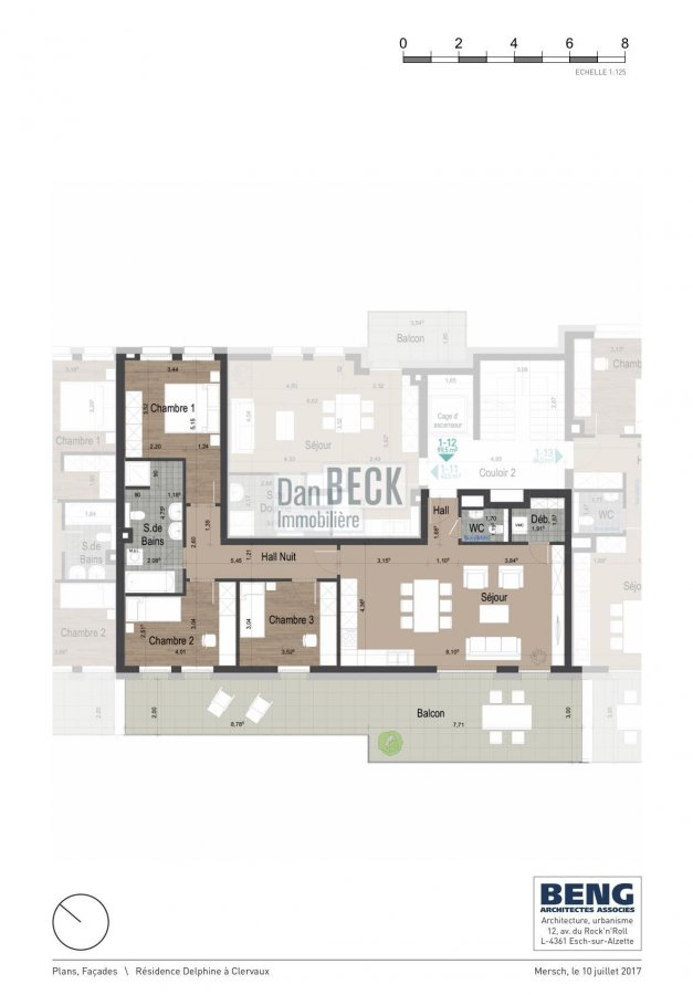 acheter appartement 3 chambres 99.5 m² clervaux photo 2