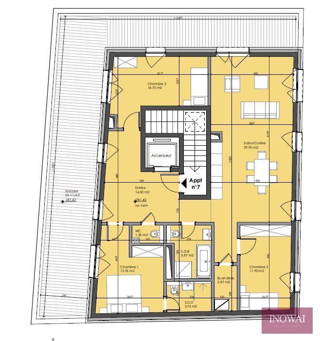 apartment for buy 3 bedrooms 116.71 m² berchem photo 2