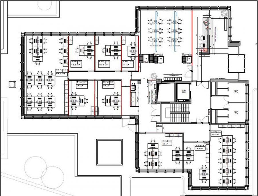 louer bureau 0 chambre 670 m² luxembourg photo 3