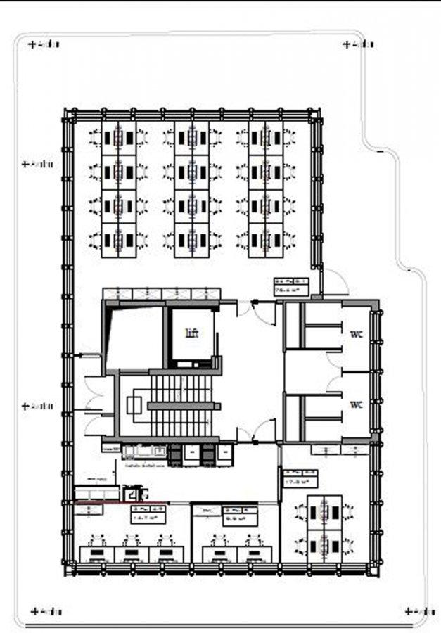 louer bureau 0 chambre 670 m² luxembourg photo 7