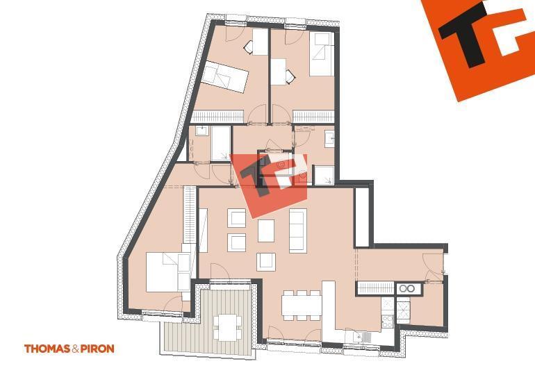 wohnung kaufen 3 schlafzimmer 115.08 m² schifflange foto 1