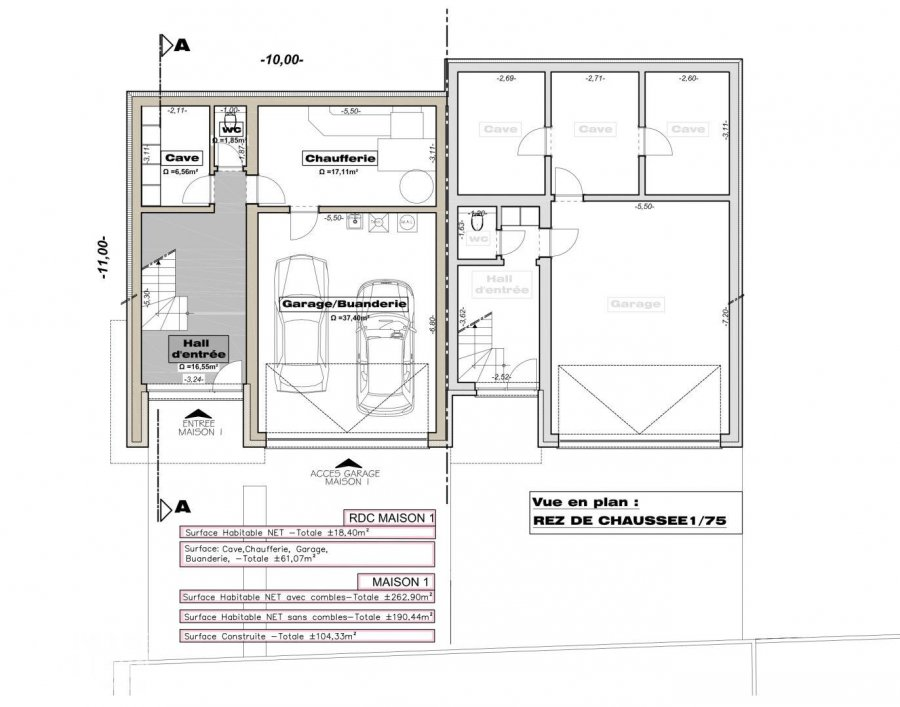 semi-detached house for buy 4 bedrooms 262.9 m² weiswampach photo 5