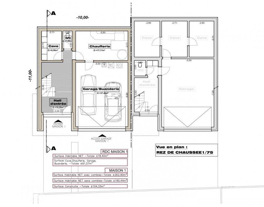 acheter maison jumelée 4 chambres 262.9 m² weiswampach photo 5