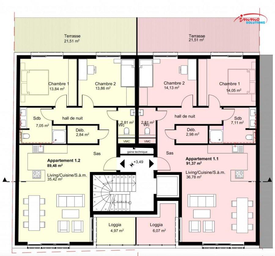 Appartement en vente diekirch m 473 014 for Appartement acheter