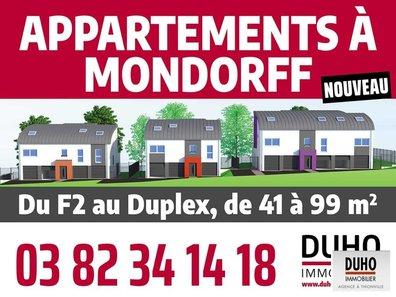 Appartement à vendre F3 à Mondorff - Réf. 6296889