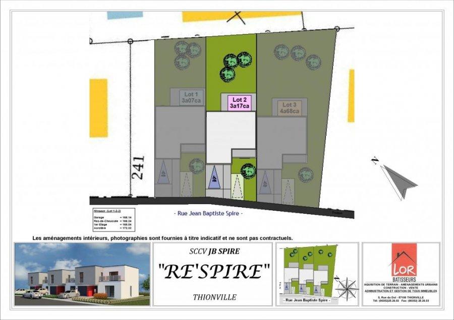 Maison mitoyenne à vendre F6 à Thionville