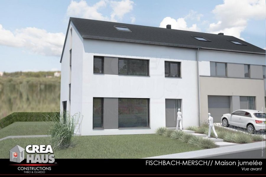 Maison individuelle en vente fischbach mersch 191 m for Maison individuelle a acheter