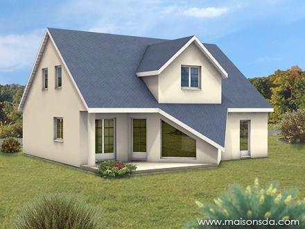 Modèle de maison à vendre F3 à