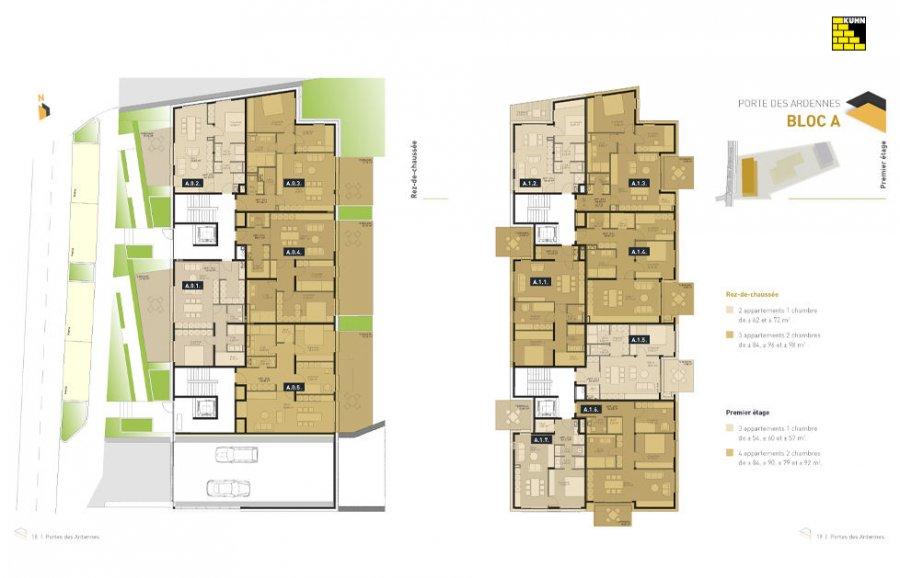 acheter résidence 0 chambre 92.27 à 137.77 m² erpeldange (ettelbruck) photo 6