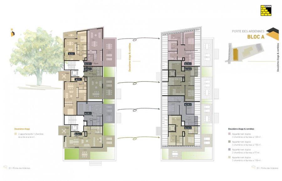 acheter résidence 0 chambre 92.27 à 137.77 m² erpeldange (ettelbruck) photo 7