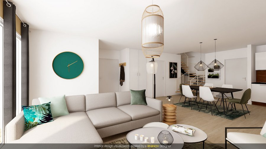 acheter duplex 3 chambres 96.16 m² esch-sur-alzette photo 6