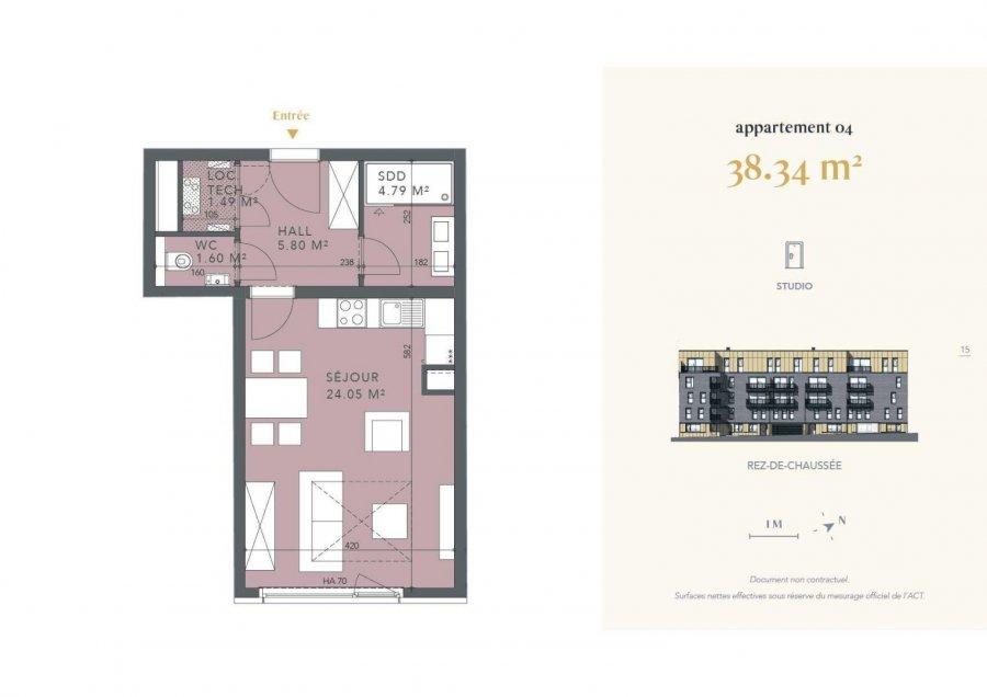 acheter studio 0 chambre 38.34 m² luxembourg photo 4