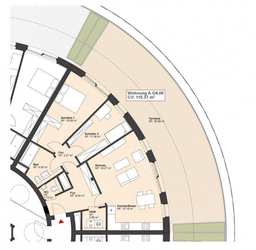 acheter appartement 2 chambres 115.37 m² wasserbillig photo 1