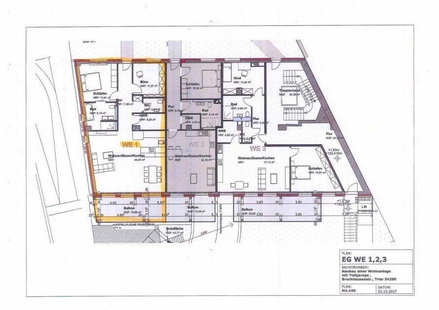 acheter appartement 2 pièces 112.35 m² trier photo 1