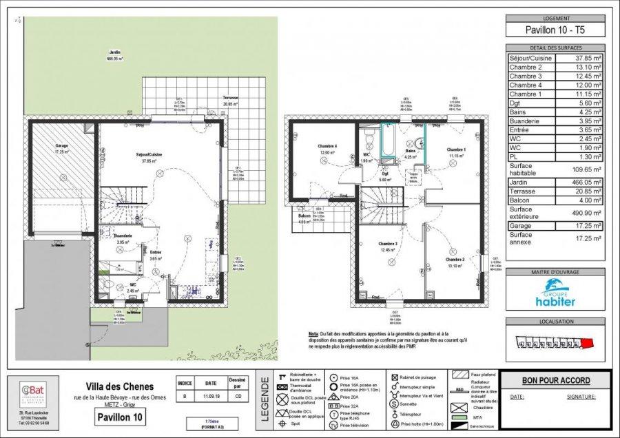 acheter villa 5 pièces 109 m² metz photo 1
