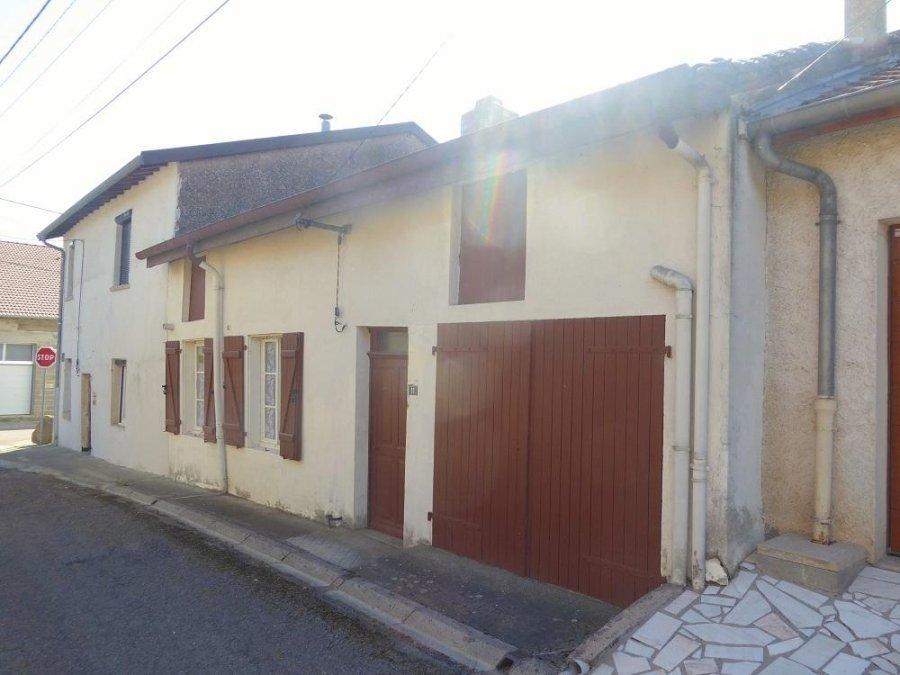 acheter maison mitoyenne 3 pièces 0 m² mars-la-tour photo 1