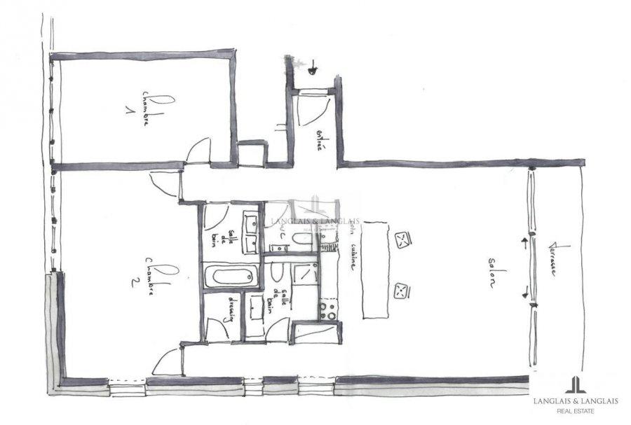 Appartement à louer 2 chambres à Bridel