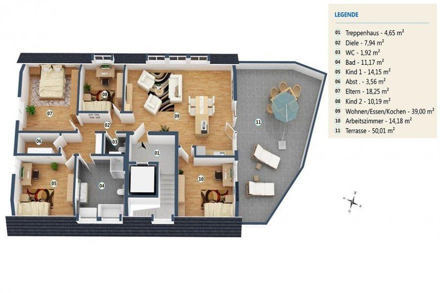 acheter penthouse 5 pièces 147 m² palzem photo 1