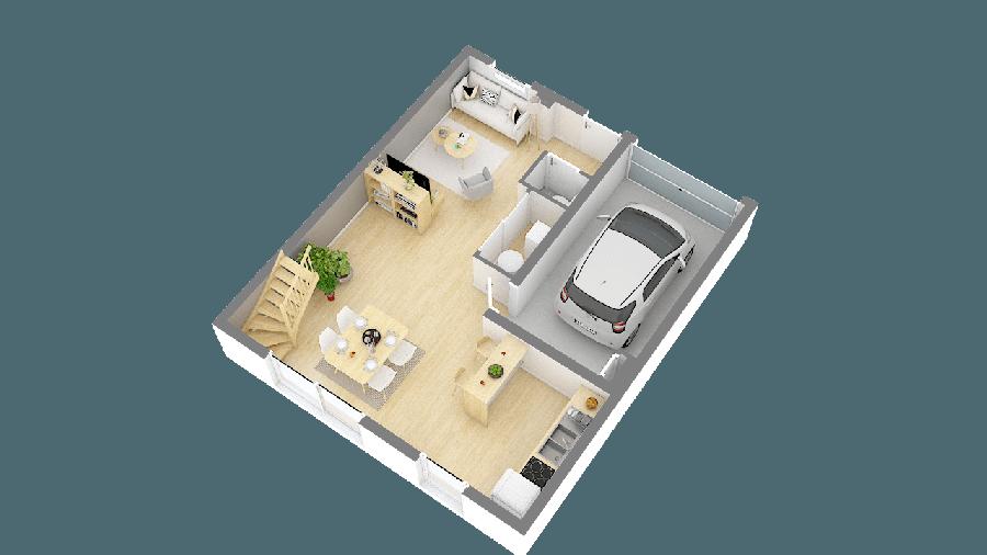 acheter maison 4 pièces 92 m² pontchâteau photo 1
