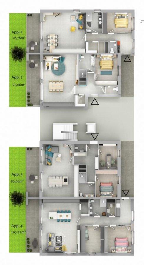 acheter appartement 1 chambre 76.78 m² ettelbruck photo 6