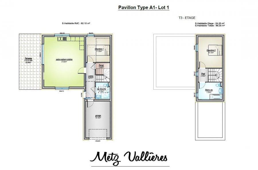 acheter maison 4 pièces 125.85 m² metz photo 3