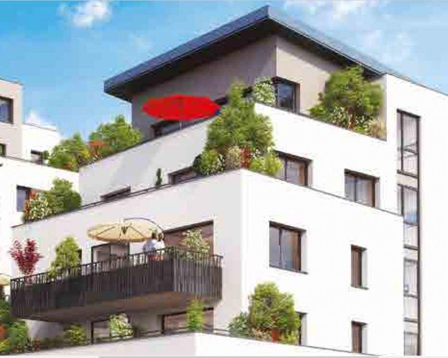 Penthouse à vendre F4 à METZ-Gare