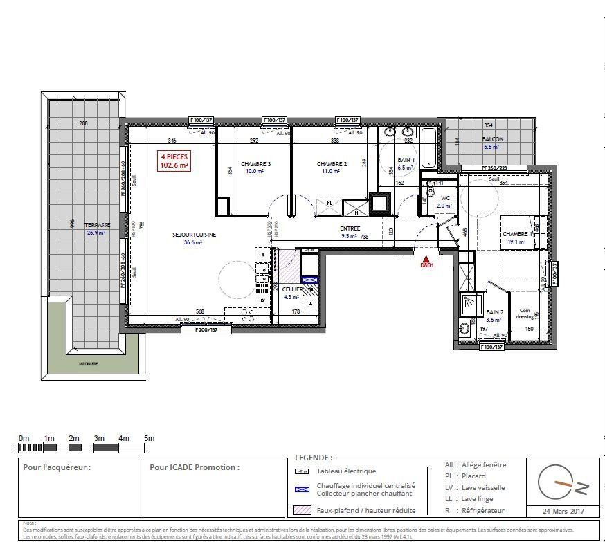 penthouse-wohnung kaufen 4 zimmer 102 m² metz foto 2