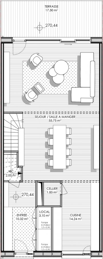 acheter maison 4 chambres 222.5 m² peppange photo 5