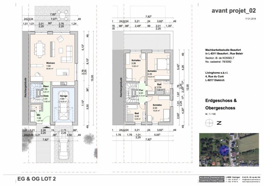 acheter maison jumelée 3 chambres 202.94 m² beaufort photo 4