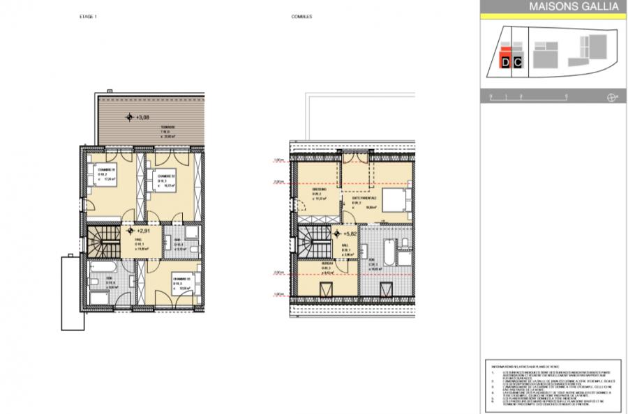 Maison à vendre 4 chambres à Niederanven
