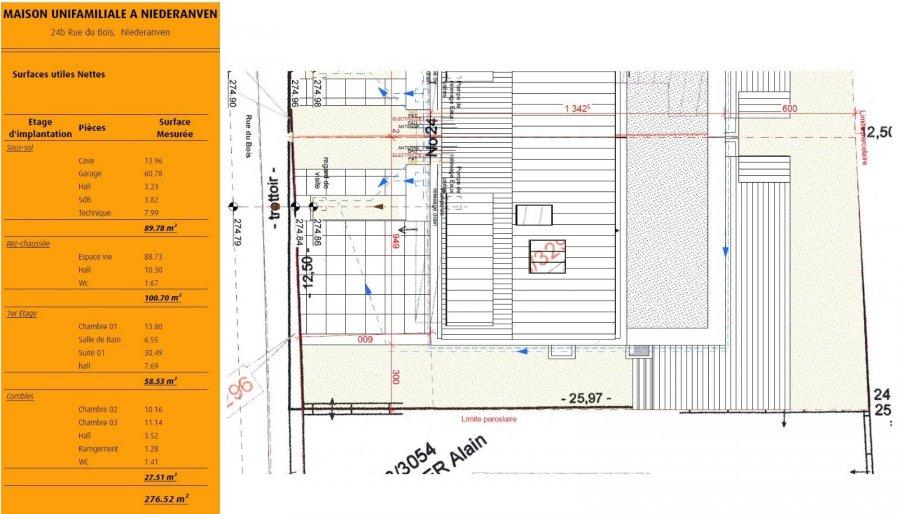 acheter maison jumelée 3 chambres 276.82 m² niederanven photo 4