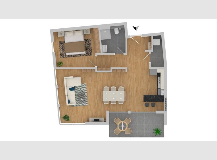 Appartement à vendre 2 Pièces à Saarbrücken (DE) - Réf. 5431913