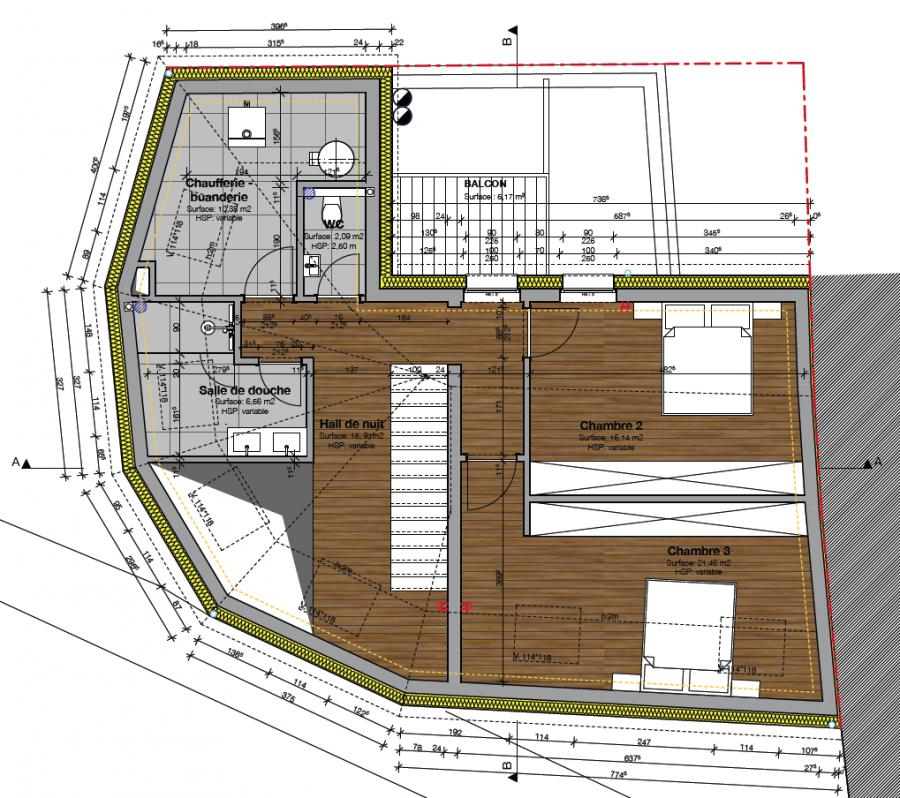 acheter maison individuelle 4 chambres 240 m² canach photo 5