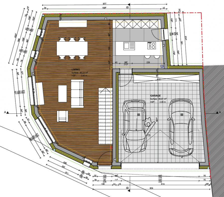 acheter maison individuelle 4 chambres 240 m² canach photo 3