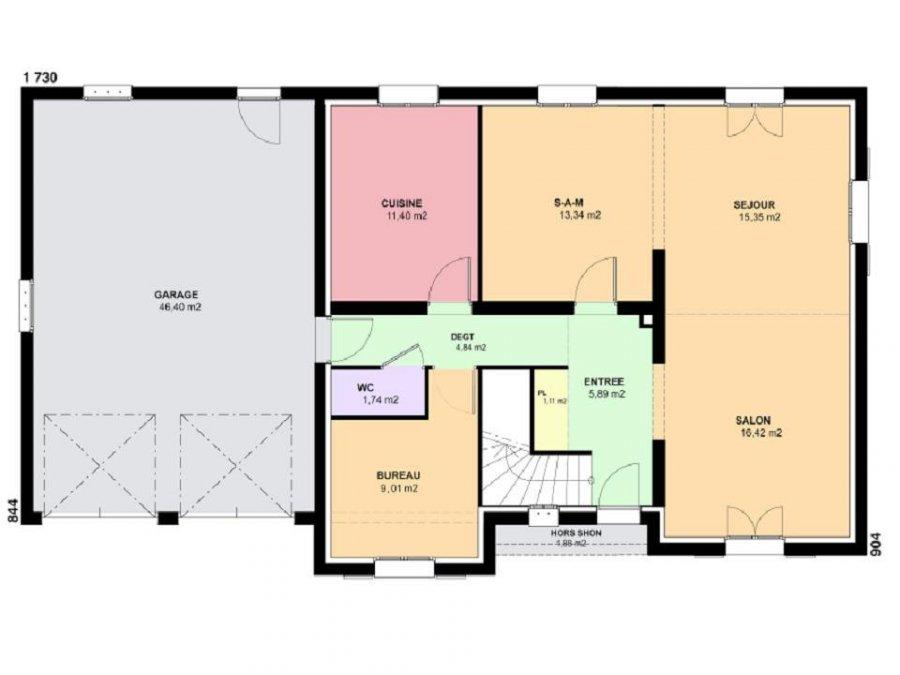 acheter terrain constructible 6 pièces 124 m² mécleuves photo 3