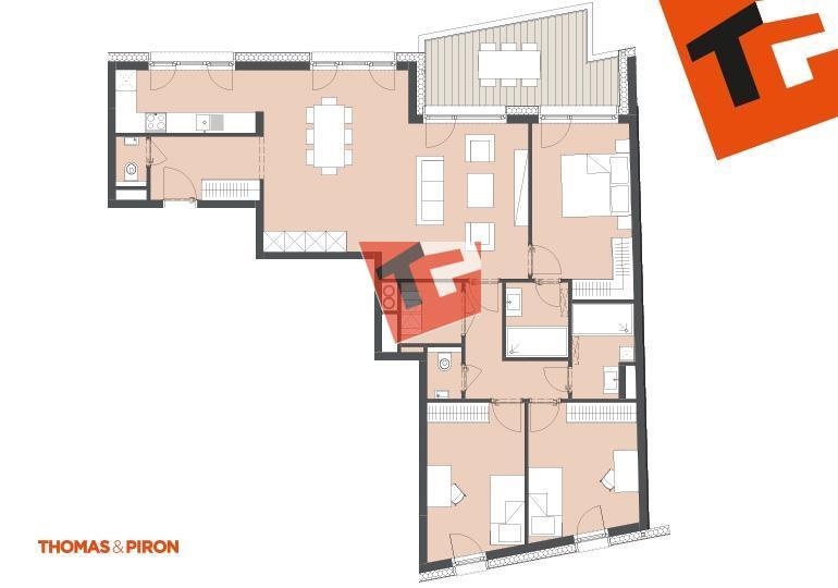 wohnung kaufen 3 schlafzimmer 114.3 m² schifflange foto 1