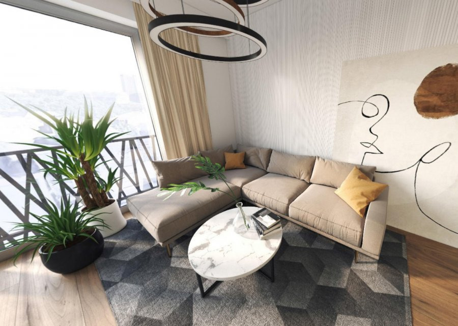acheter appartement 1 chambre 53 m² luxembourg photo 4
