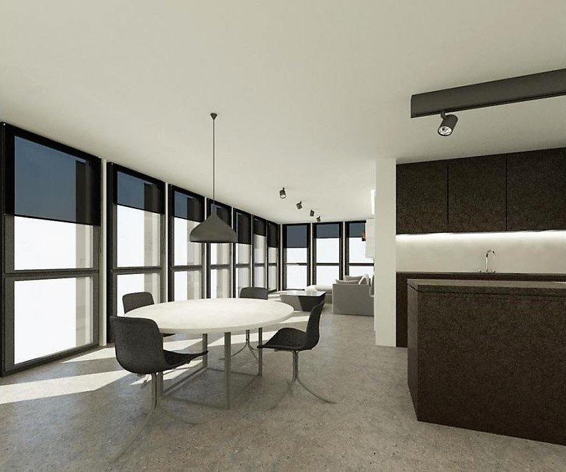 penthouse-wohnung kaufen 1 schlafzimmer 73 m² schifflange foto 2