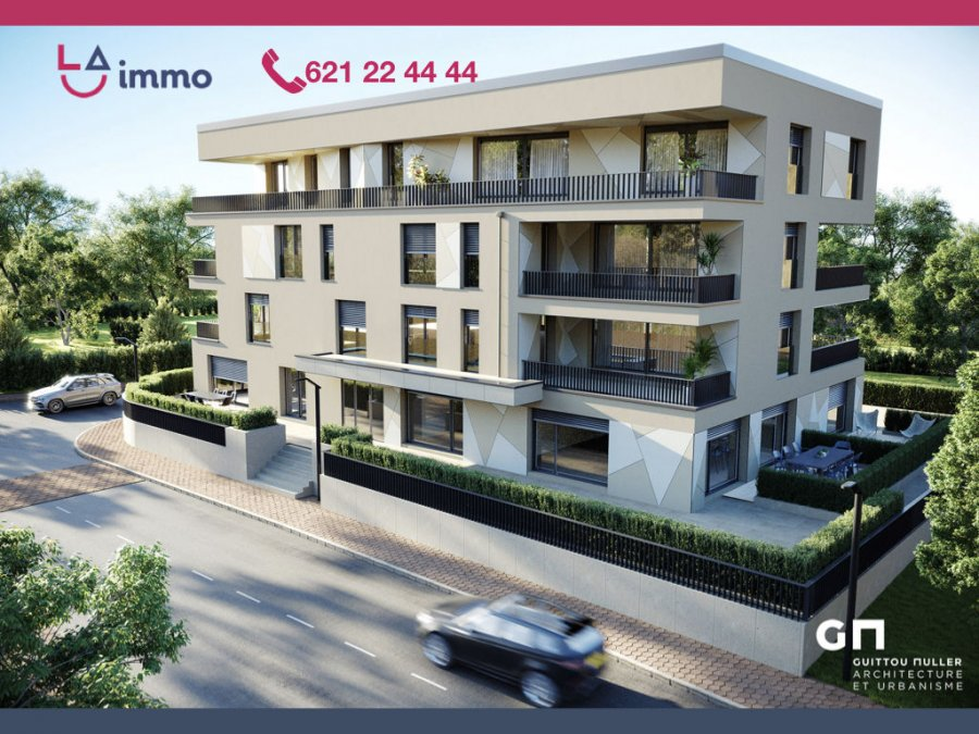 acheter appartement 1 chambre 61.55 m² bertrange photo 3